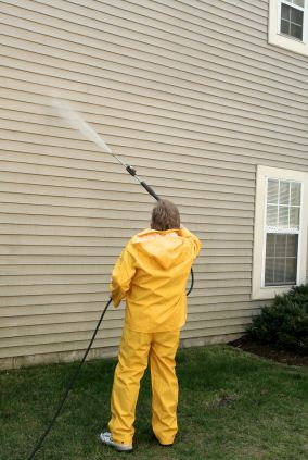 Pressure washing in Sherrills Ford, NC by R and R Painting NC LLC.