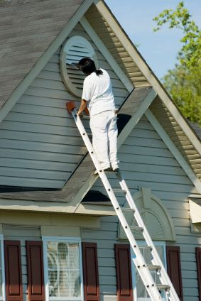 Exterior painting in Davidson, NC.