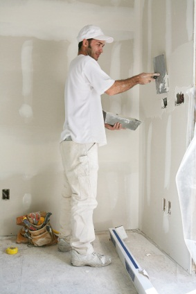 Drywall repair in Iron Station, NC by R and R Painting NC LLC.