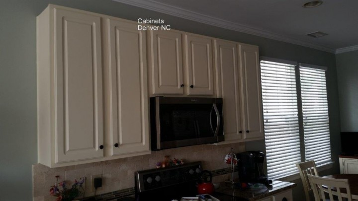 Kitchen cabinet finished