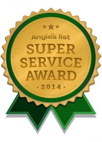 Angie's List Super Service Award to R and R Painting NC LLC