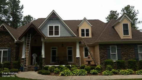 Exterior Painting on Entire Home Denver, NC