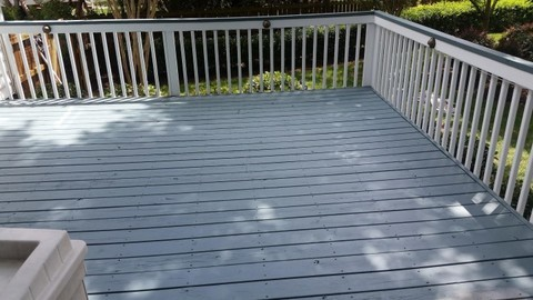 Deck Staining in Denver, NC