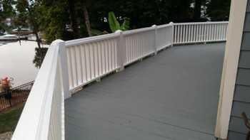 Finished decks in Denver, NC