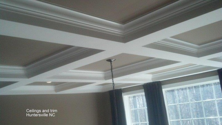Ceilings & Trim in Huntersville, NC