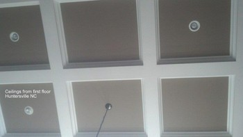 Ceilings from First Floor in Huntersville, NC