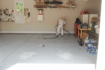 Refinishing Garage Floor in Huntersville, NC