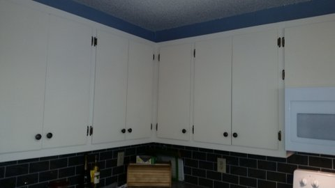 Cabinet Refinishing and Installed in Denver, NC