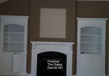 After High Gloss Spray for Bookcase in Denver, NC