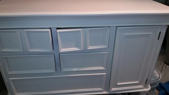 Furniture Painting (over stain) in Denver, NC