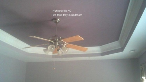 Huntersville, NC Two Tone Tray in Bedroom