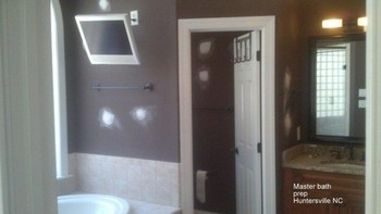Master Bath Prep in Huntersville, NC