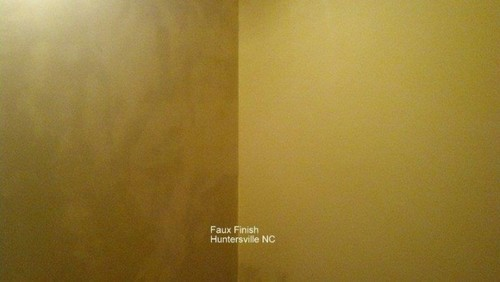 Faux Finish in Huntersville, NC