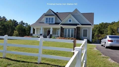 Exterior Painting of a Home in Iron Station, NC