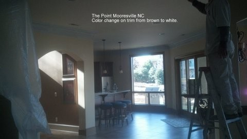 Interior painting in Mooresville NC