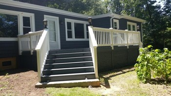 Deck finish Sherill Ford NC